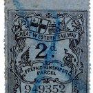 (I.B) Great Western Railway : Newspaper Parcel 2d