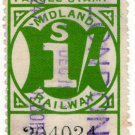 (I.B) Midland Railway : Parcel 1/- (London)