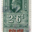 (I.B) Edward VII Revenue : Police Courts 2/6d