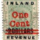 (I.B) British Guiana Revenue : Inland Revenue 1c on $2
