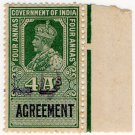 (I.B) India Revenue : Agreement 4a