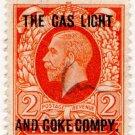 (I.B) George V Commercial Overprint : The Gas Light & Coke Company
