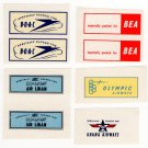 (I.B) Cinderella Collection : Airline Catering Labels
