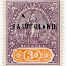 (I.B) Basutoland Revenue : Duty 3d