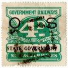 (I.B) Australia - NSW Railways Parcel 4d (State Government)