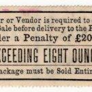 (I.B) QV Revenue : Cavendish Tobacco Duty - not exceeding 8oz