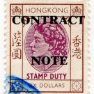 (I.B) Hong Kong Revenue : Contract Note $6
