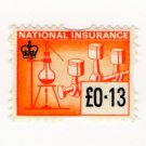 (I.B) Elizabeth II Revenue : National Insurance 13p
