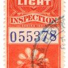 (I.B) Canada Revenue : Electric Light Inspection $3