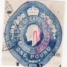 (I.B) Cape of Good Hope Revenue : Impressed Duty £1