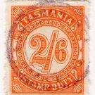 (I.B) Australia - Tasmania Revenue : Stamp Duty 2/6d
