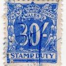 (I.B) Australia - NSW Revenue : Stamp Duty 30/-