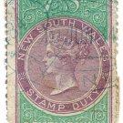 (I.B) Australia - NSW Revenue : Stamp Duty 7/-