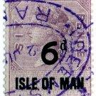 (I.B) QV Revenue : Isle of Man 6d