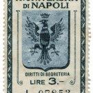 (I.B) Italy Cinderella : University of Naples 3L (writing charge)