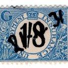 (I.B) George V Revenue : Unemployment Insurance 1/8d