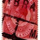(I.B) Gibraltar Postal : 2/- Red-Brown & Black (Parcel Post)