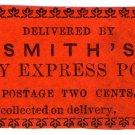 (I.B) US Local Post : Smith's City Express 2c