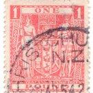 (I.B) New Zealand Revenue : Stamp Duty £1 (postal)