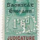(I.B) George V Revenue : Judicature Ireland 1/6d OP