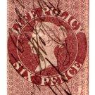 (I.B) QV Revenue : Life Policy 6d (1854)