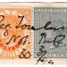 (I.B) Natal Revenue : Duty Stamp 1/3d