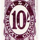 (I.B) New Zealand Railways : Railway Charges 10/- (Brodie reprint)
