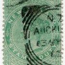 (I.B) New Zealand Revenue : Stamp Duty 5/- (Auckland postal)