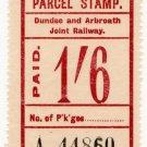 (I.B) Dundee & Arbroath Joint Railway : Parcel 1/6d