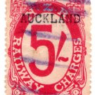 (I.B) New Zealand Railways : Railway Charges 5/- (Auckland)