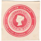 (I.B) QV Postal : Newspaper Wrapper - William Lincoln 3d (Advertising Ring)