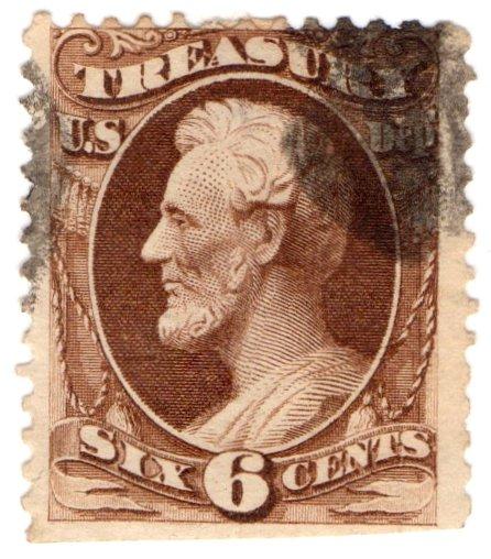 (I.B) US Postal Service : Treasury Department 6c