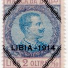 (I.B) Italy (Libya) Revenue : Marca da Bollo 2L + 2/10c