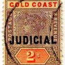 (I.B) Gold Coast Revenue : Judicial 2/-