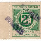 (I.B) The County Donegal Railways Joint Committee : Letter 4d on 2d OP