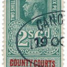 (I.B) George V Revenue : County Courts Ireland 2/6d