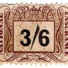 (I.B) George VI Revenue : National Insurance 3/6d
