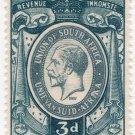 (I.B) South Africa Revenue : Duty Stamp 3d (1937)