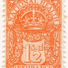 (I.B) George V Revenue : National Health & Insurance 1/2d