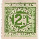 (I.B) Caledonian Railway : Letter Stamp 2d