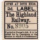 (I.B) The Highland Railway : Newspapers 2d