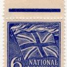 (I.B) Cinderella Collection : National Savings - Flaming Cross 6d (1944)