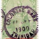 (I.B) Trinidad Revenue : Duty Stamp 5/-