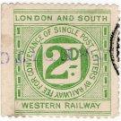 (I.B) London & South Western Railway : Letter 2d (Crediton)
