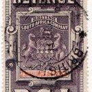 (I.B) Rhodesia/BSAC Revenue : Duty 2/6d (British Consulate cancel)