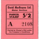 (I.B) Cinderella Collection : David MacBrayne Motor Services - Parcel 5/2d