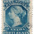 (I.B) Canada Revenue : Bill Stamp 40c