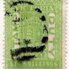 (I.B) Australia - Victoria Revenue : Stamp Duty 6/- (postally used)