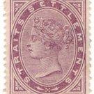 (I.B) Straits Settlements Revenue : Duty Stamp 3c