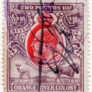 (I.B) Orange River Colony Revenue : Duty £2 10/-